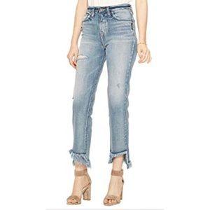 Silver Vintage Ankle Jeans